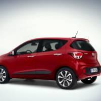 Hyundai i10 facelift revealed