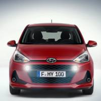 Hyundai i10 facelift revealed