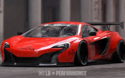 Liberty Walk McLaren 650S tuning kit