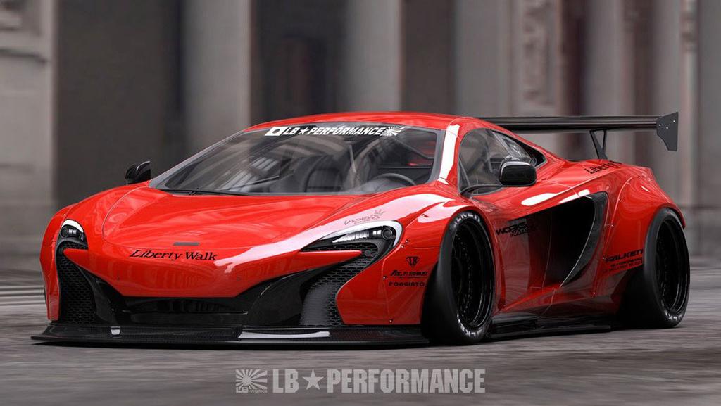 Liberty Walk McLaren 650S tuning kit