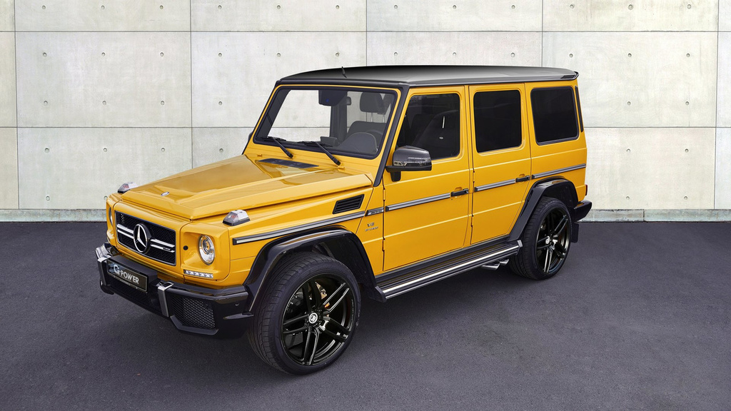 Mercedes-AMG G63 modified by G-Power