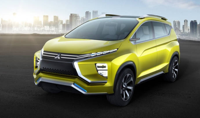 Mitsubishi XM concept - The MPV of SUVs