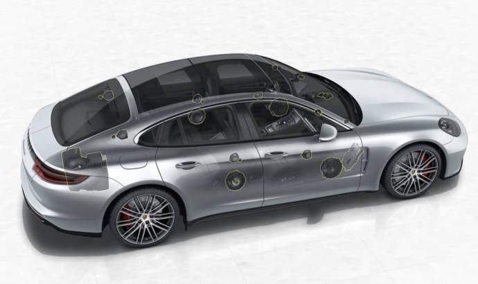 Porsche Panamera will feature a Burmester sound system