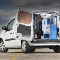 Renault Kangoo offered with Ready4Work racking solution