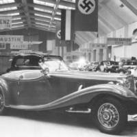 This Mercedes-Benz 500K Roadster Special is going for auction. And has a unique story