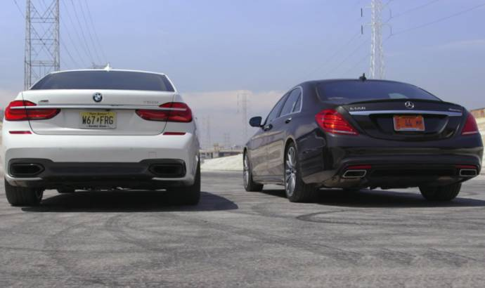 VIDEO: BMW 7 Series vs. the king of the segment Mercedes S-Class