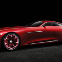 Vision Mercedes-Maybach 6 concept is the ultimate coupe