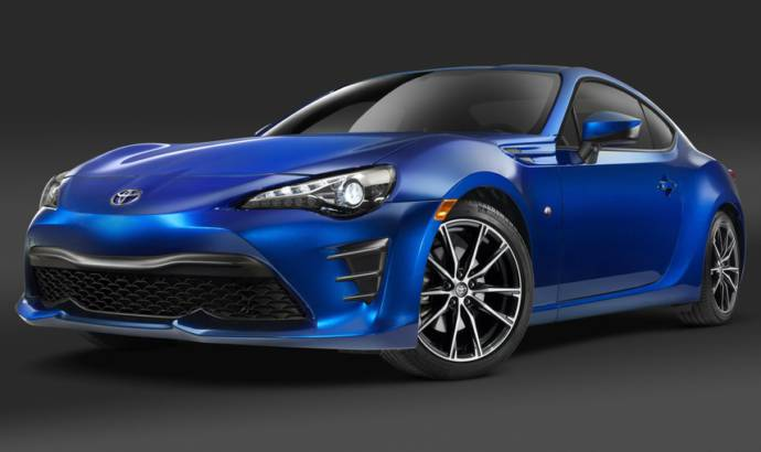 2017 Toyota 86 replaces Scion FR-S in the US