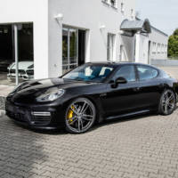 Porsche Cayman GT4 and Panamera modified by TechArt