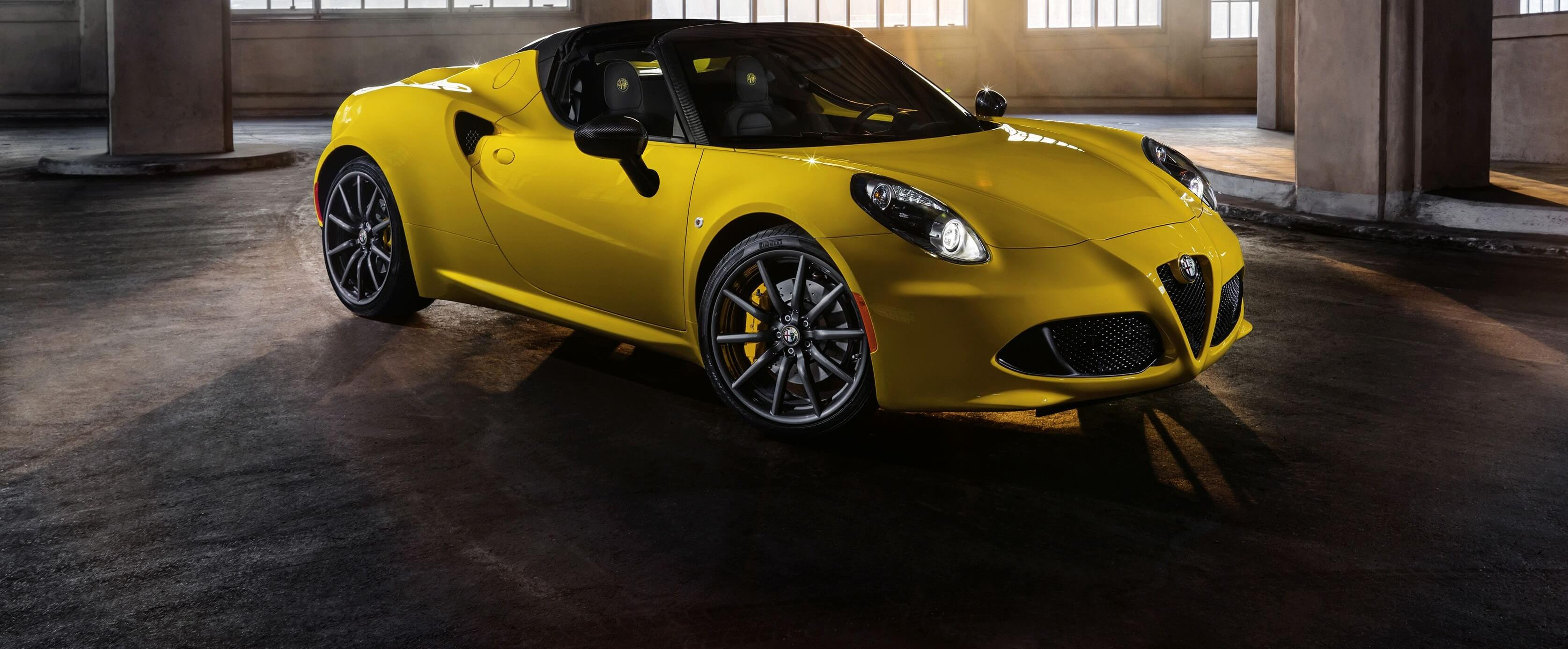 2016 Alfa Romeo 4C Spider Review