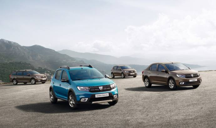 2016 Dacia Sandero and Logan facelift first picture