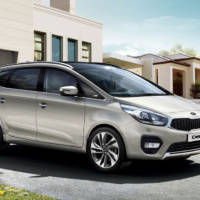 2017 Kia Carens facelift unveiled