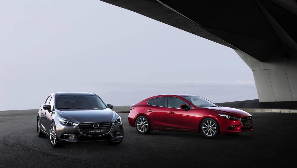 2017 Mazda3 updated on the UK market