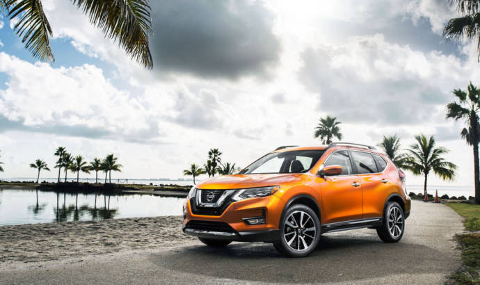 2017 Nissan Rogue - Official pictures and details