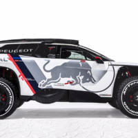 2017 Peugeot 3008 DKR - Official pictures and details