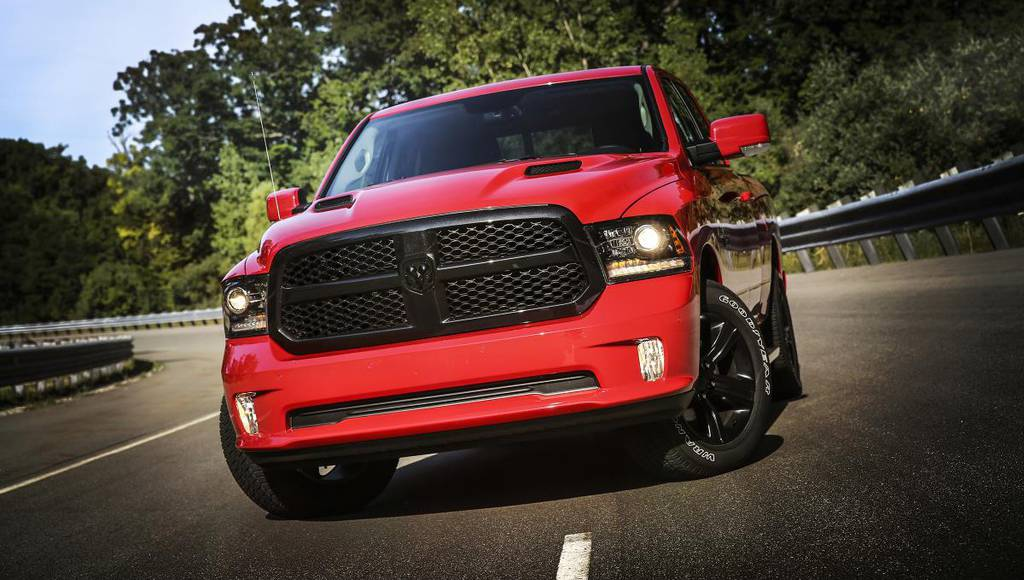 2017 Ram 1500 Night Package launched