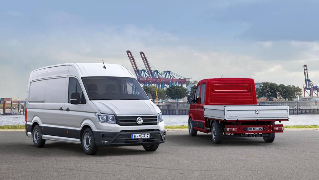 2017 Volkswagen Crafter first photos and details