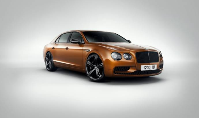 Bentley Flying Spur W12 S model unveiled