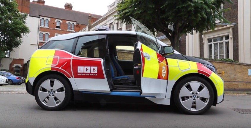 London Fire Brigade buys 52 BMW i3s