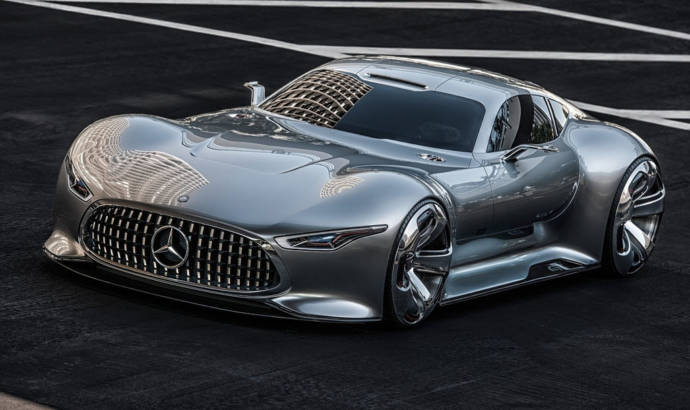Mercedes-AMG R50 Hypercar is coming to Paris