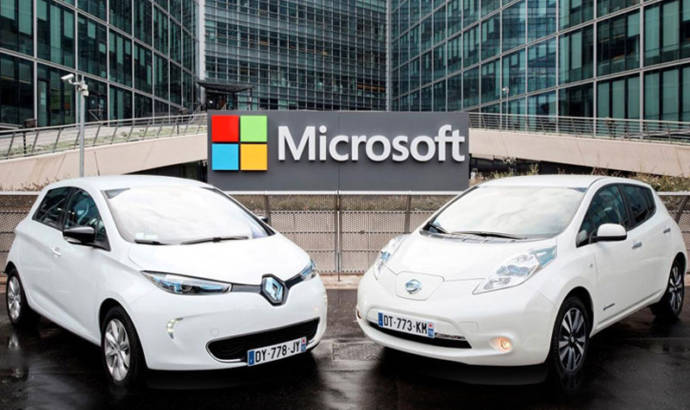 Microsoft and Renault-Nissan sign partnership