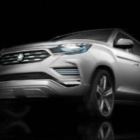 Ssangyong LIV-2 SUV concept previews the upcoming Rexton