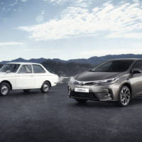 Toyota Corolla celebrates 50 years