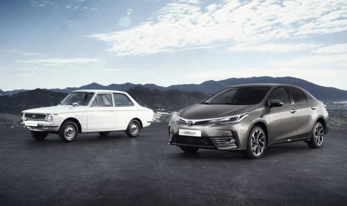 Toyota Corolla celebrates 50 years