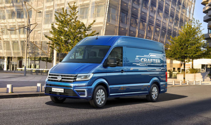 Volkswagen e-Crafter Concept unveiled