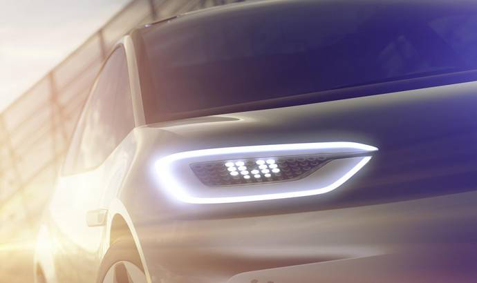 Volkswagen is introducing an all electric car in Paris