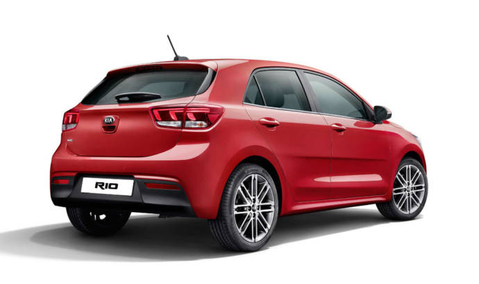 2017 Kia Rio - Official pictures and details