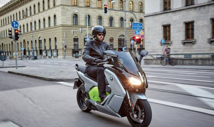 BMW C evolution electric scooter launched