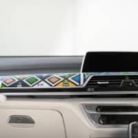 Esther Mahlangu BMW 740Li created in South Africa