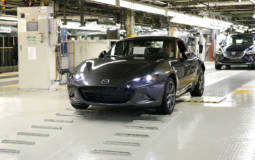 Mazda MX-5 RF - Production started in Japan