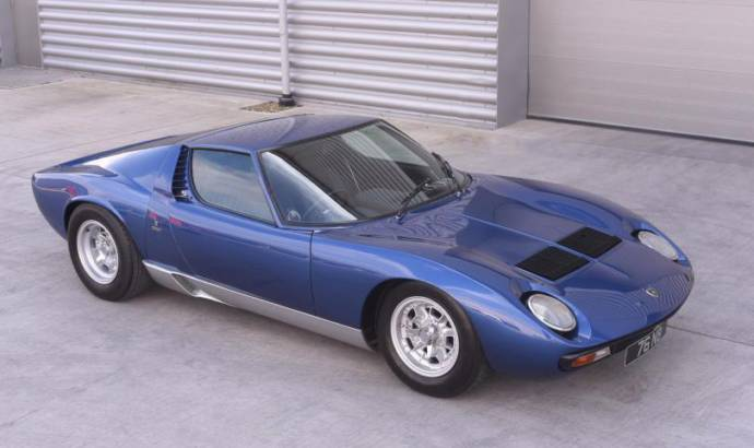 1971 Lamborghini Miura owned by Rod Stewart up for sale