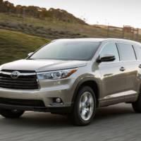 2016 Toyota Highlander recalled in the US