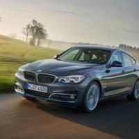 2017 BMW 3 Series Gran Turismo facelift