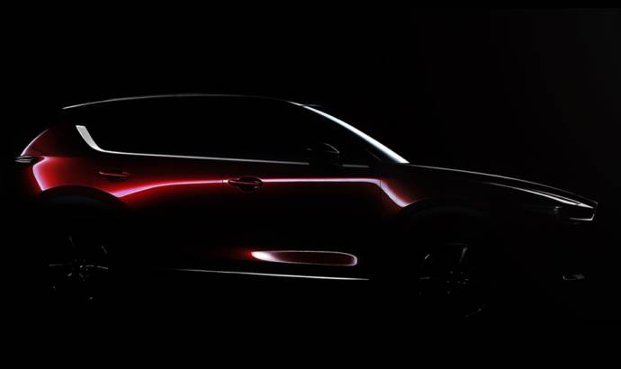 2017 Mazda CX-5 teased ahead of LA debut