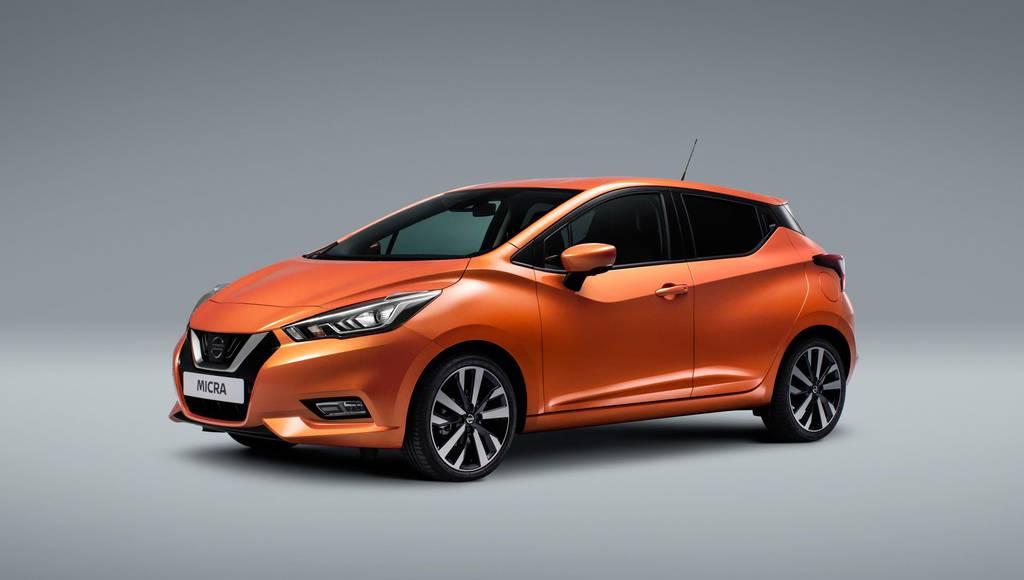 2017 Nissan Micra unveiled in Paris Motor Show