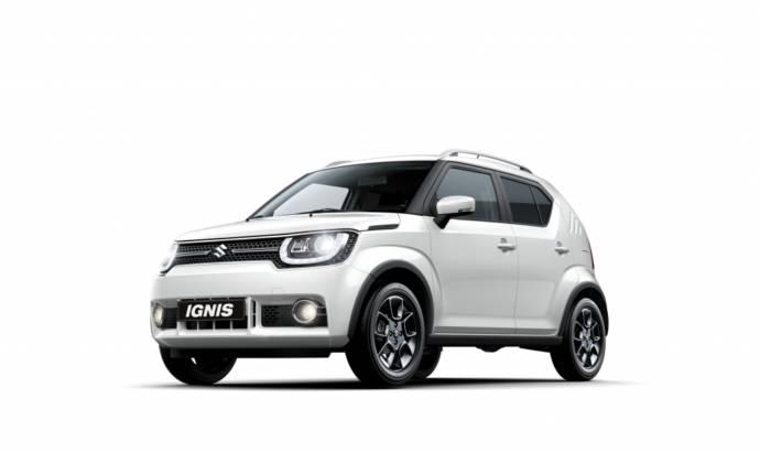 2017 Suzuki Ignis: complete details and photos