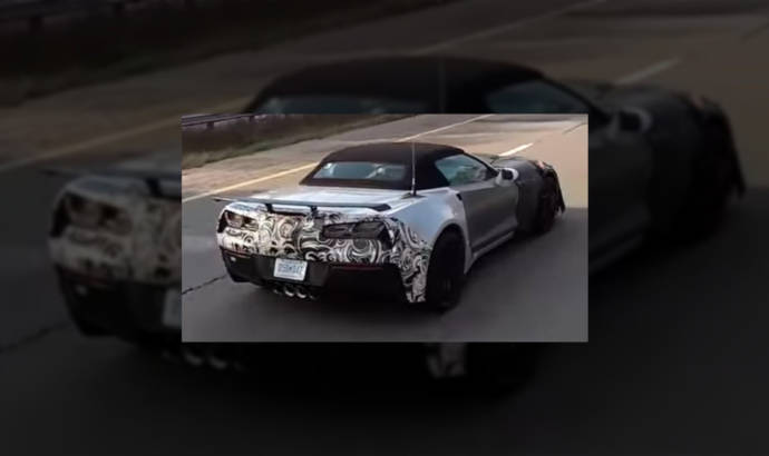 2018 Chevrolet Corvette Z01 - Spy video