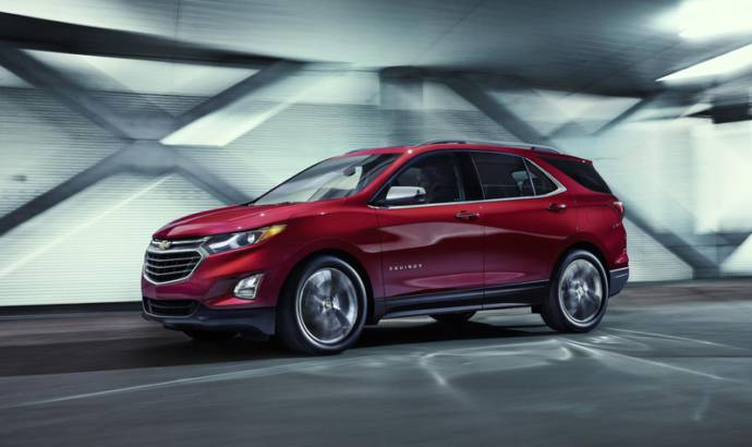 2018 Chevrolet Equinox introduced in US