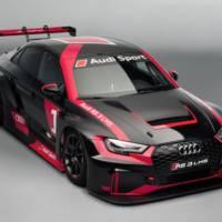 Audi RS3 LMS unveiled in Paris Motor Show