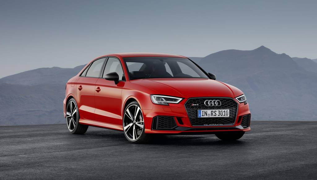 Audi RS3 Sedan is a new competitor for the hot-hatch segment