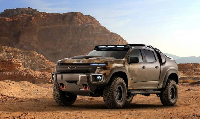Chevrolet Colorado ZH2 - Official pictures and details