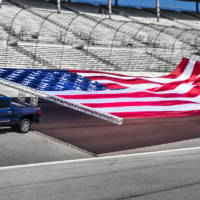 Chevrolet Silverado HD towed the largest flag in the world