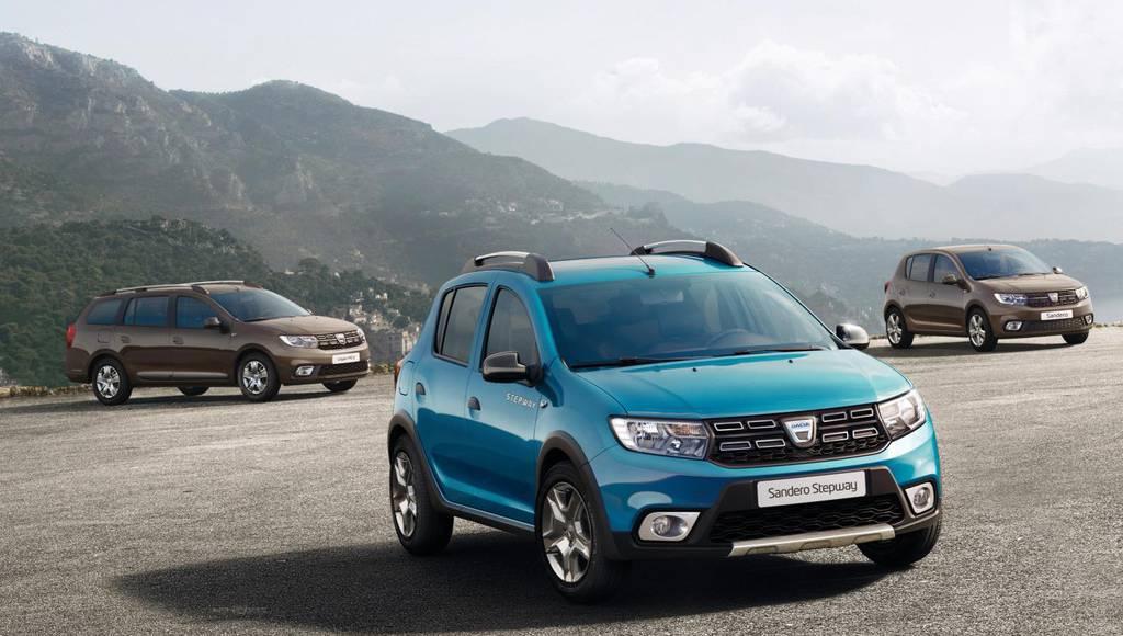 Dacia updates Logan, Sandero and Logan MCV