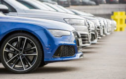FC Barcelona players receive new Audis