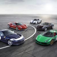 Ferrari 70 th Anniversary models unveiled in Paris