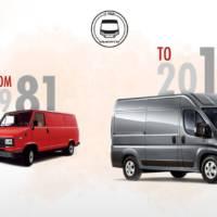 Fiat Ducato celebrates 35th anniversary